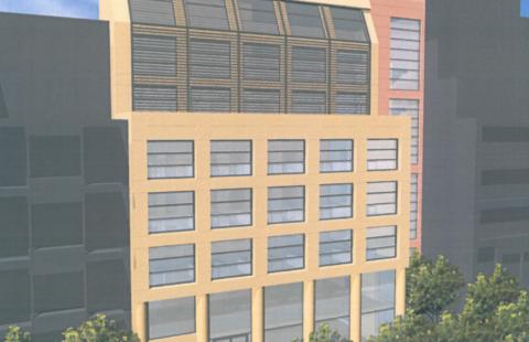 New Building in Athens, Patission Av.