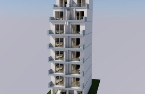 New Block of Apartments in Athens